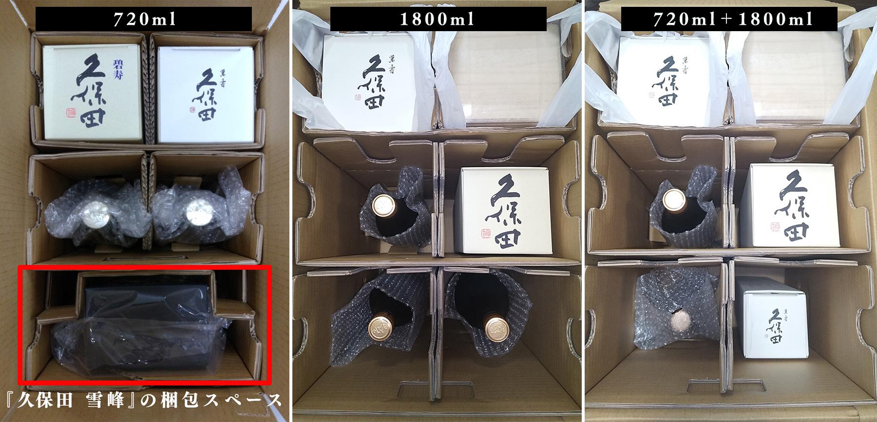 梱包イメージと特殊サイズ商品