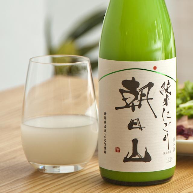 朝日山 純米にごり商品画像