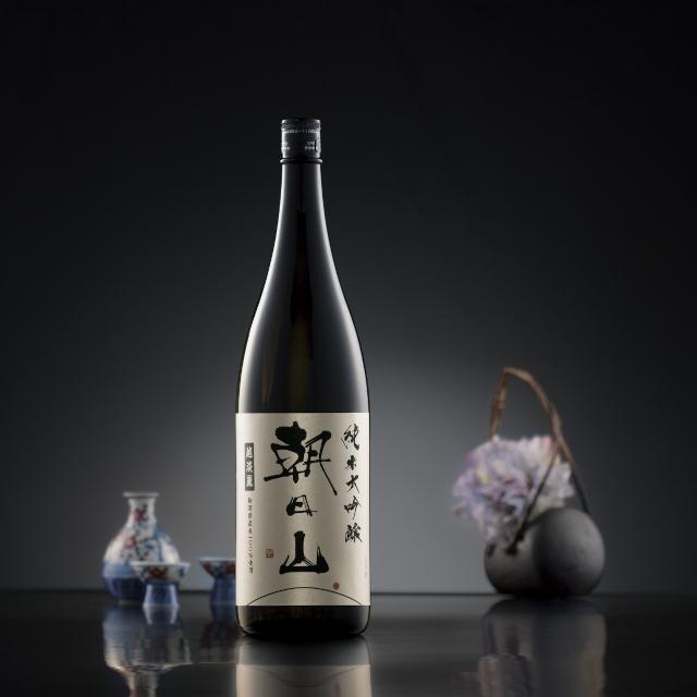 朝日山 純米大吟醸 越淡麗商品画像